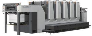 machine offset 5 couleurs
